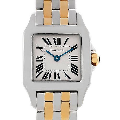 Photo of Cartier Santos Demoiselle Ladies Steel Yellow Gold Watch W25066Z6