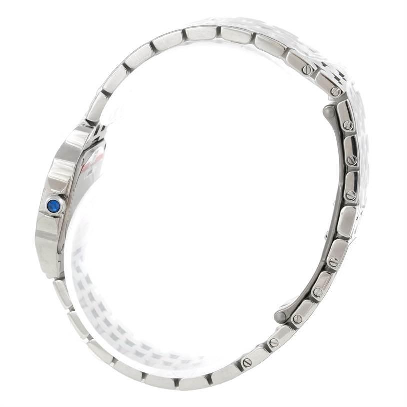 9321 Cartier Santos Demoiselle Steel Ladies Watch W25064Z5 Unworn SwissWatchExpo