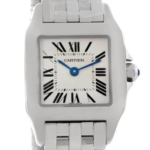 Photo of Cartier Santos Demoiselle Steel Ladies Watch W25064Z5 Unworn