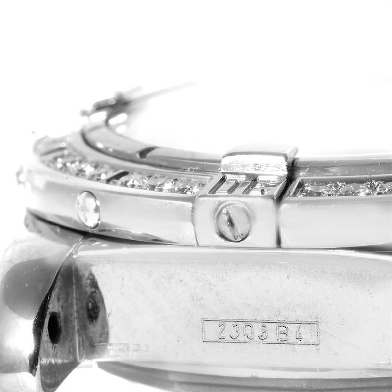 Breitling Windrider Cockpit Ladies Mother Pearl Diamond Watch A71356 SwissWatchExpo