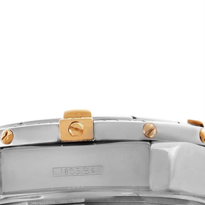Breitling Cockpit Ladies Steel 18K Yellow Gold Diamond Watch B71356 SwissWatchExpo