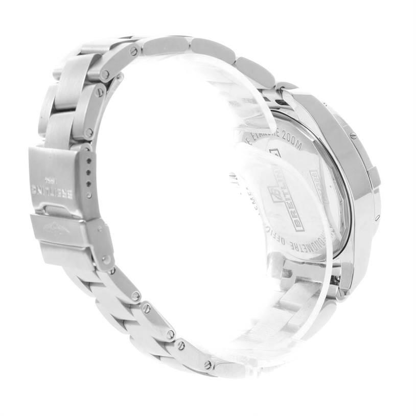 12039 Breitling Colt Lady Black Dial Steel Womens Watch A77388 Unworn SwissWatchExpo