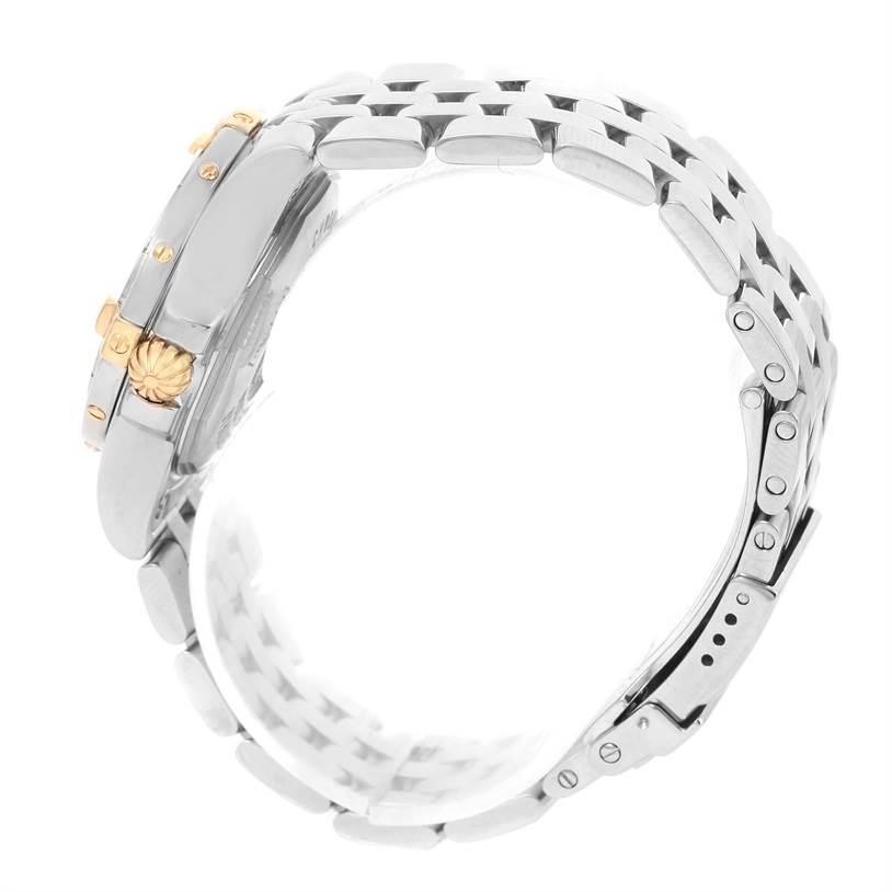 Breitling Starliner Steel Yellow Gold Blue MOP Diamond Watch B71340 SwissWatchExpo