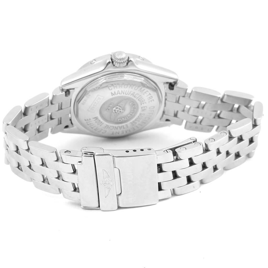 Breitling Callisto MOP Diamond Ladies Watch A72345 Box papers SwissWatchExpo