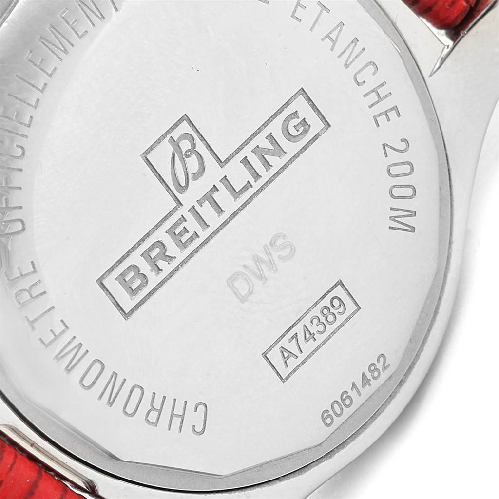 Breitling Colt 36 Quartz Steel Mens Watch A74389 Box Papers SwissWatchExpo