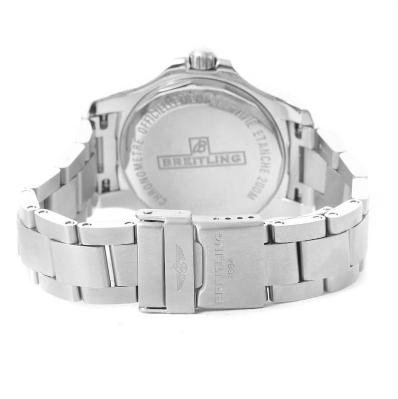 Breitling Colt Lady Black Dial Steel Womens Watch A77388 Unworn SwissWatchExpo