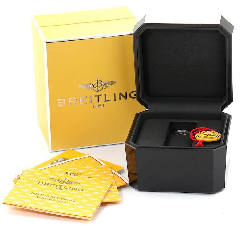 Breitling Starliner Steel Yellow Gold MOP Diamond Ladies Watch B71340 SwissWatchExpo