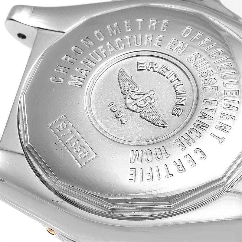 Breitling Cockpit Steel Yellow Gold Diamond Ladies Watch B71356 SwissWatchExpo
