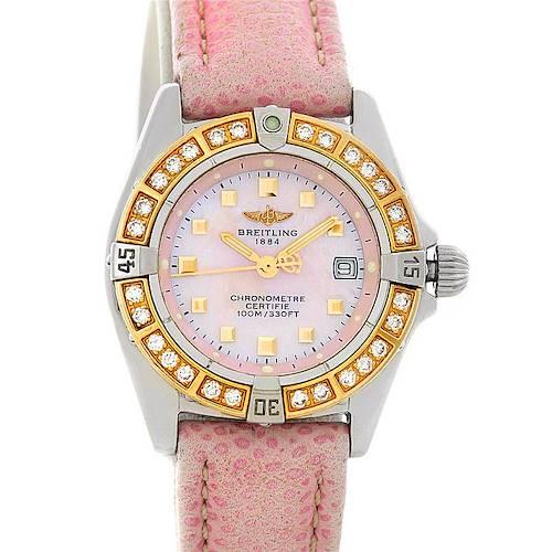 Photo of Breitling Windrider Calisto Ladies Diamond Watch D72345