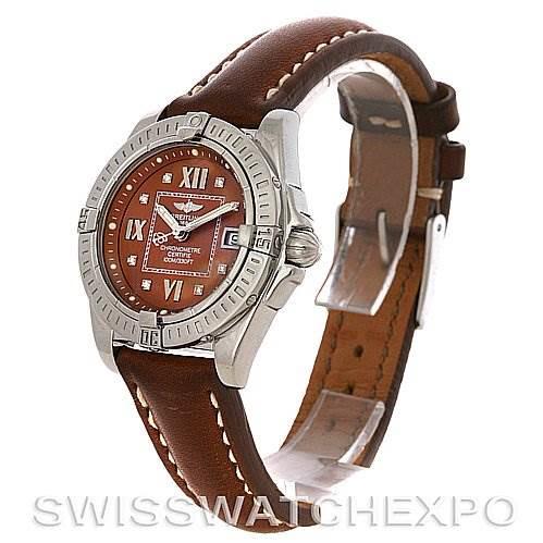 Breitling  Cockpit Ladies Diamond Watch A71356 SwissWatchExpo
