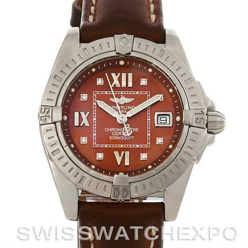 Photo of Breitling  Cockpit Ladies Diamond Watch A71356