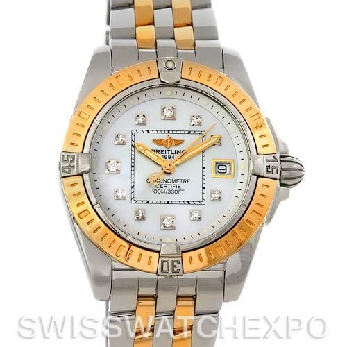 Photo of Breitling Cockpit Ladies Diamond Watch D7135612