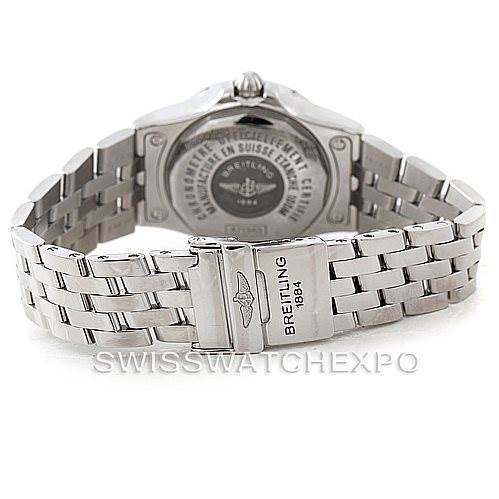Breitling Starliner Ladies Diamond Watch A71340 SwissWatchExpo