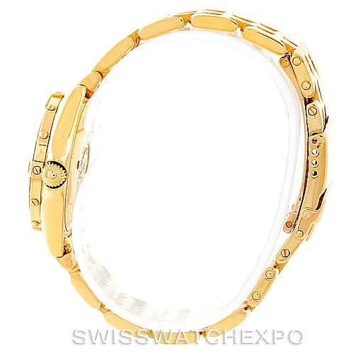 6945 Breitling Callistino Ladies 18K Yellow Gold Diamond Watch K52045 SwissWatchExpo