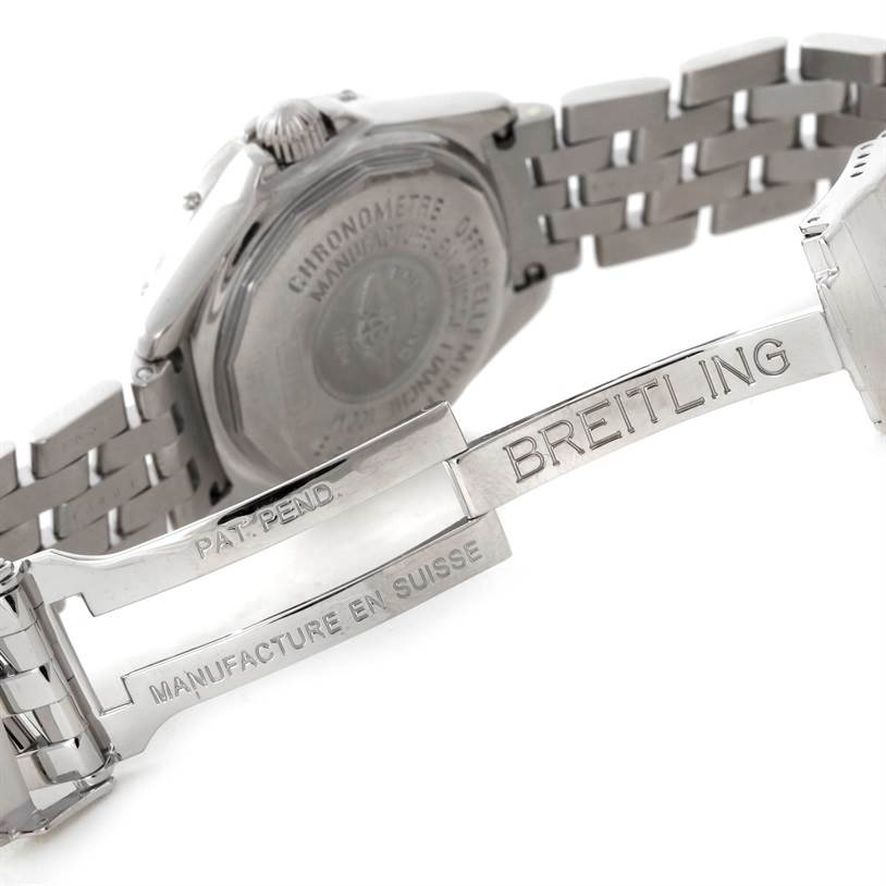Breitling Windrider Cockpit Ladies Diamond Watch A67365 SwissWatchExpo