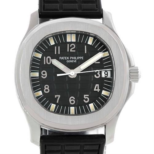 Photo of Patek Philippe Aquanaut Midsize Rubber Strap Automatic Watch 5066A