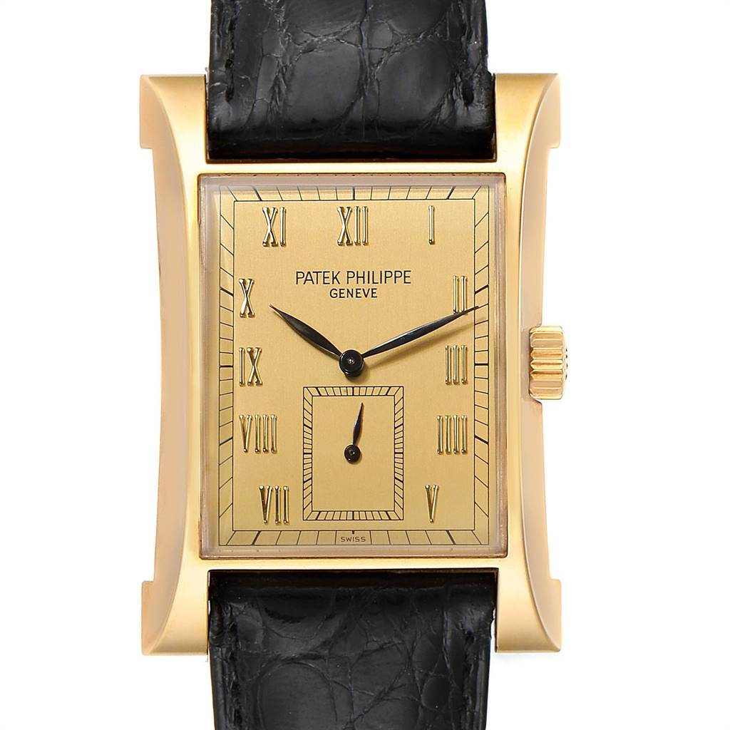 Patek Philippe Pagoda Yellow Gold Limited Edition Mens Watch 5500J