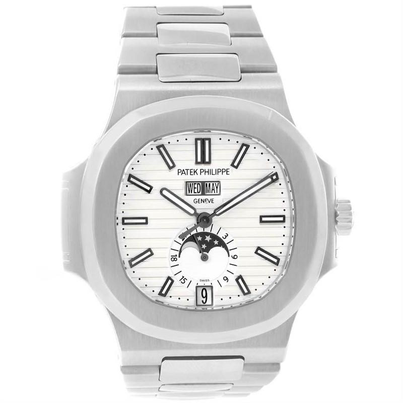 Patek Philippe Nautilus Perpetual Calendar Steel Watch 5726/1A-010 SwissWatchExpo
