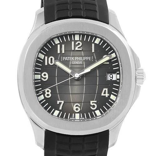 Photo of Patek Philippe Aquanaut 40mm Rubber Strap Steel Mens Watch 5167A