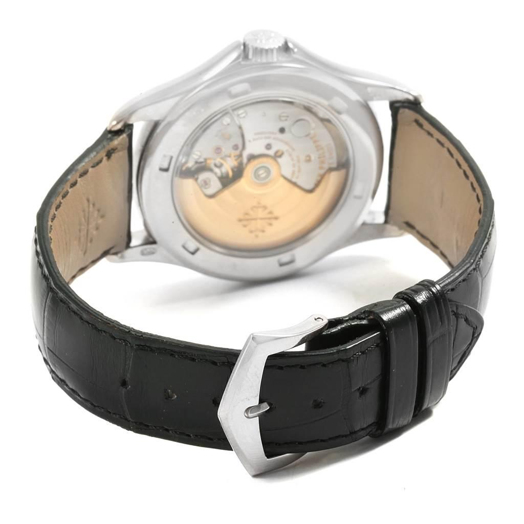 Patek Philippe Calatrava White Gold Automatic Mens Watch 5127G SwissWatchExpo
