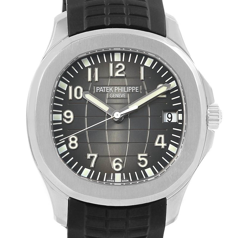 Patek Philippe Aquanaut Extra Large Mens Watch 5167A Box Papers SwissWatchExpo