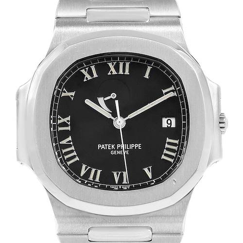 Photo of Patek Philippe Nautilus Power Reserve Steel Mens Watch 3710