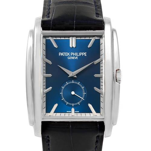 Photo of Patek Philippe Gondolo Small Seconds White Gold Blue Dial Watch 5124G