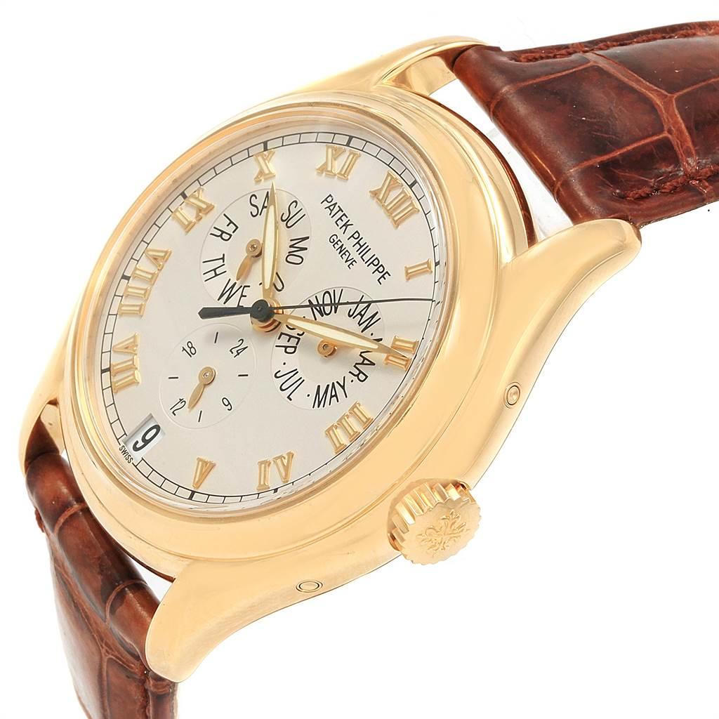 Patek Philippe Complicated Annual Calendar Yellow Gold Mens Watch 5035 SwissWatchExpo