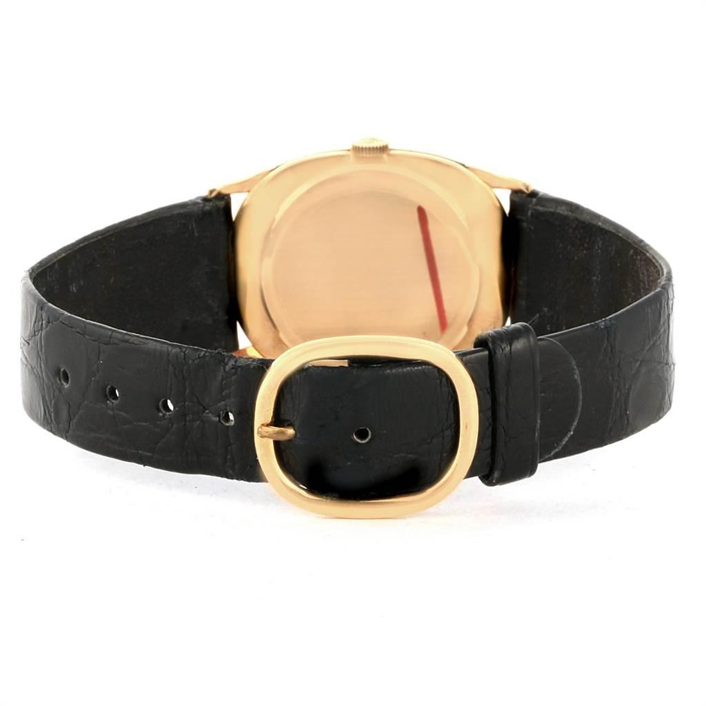12370 Patek Philippe Golden Ellipse 18k Yellow Gold Mens Watch 3846 SwissWatchExpo