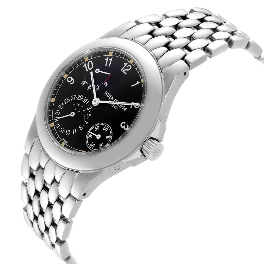25096 Patek Philippe Neptune Moonphase Power Reserve Steel Mens Watch 5085 SwissWatchExpo