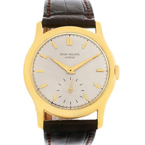 Photo of Patek Philippe  Calatrava Vintage 18k Yellow Gold Watch 2448 Year 1949