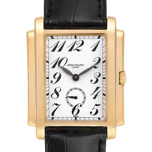 Photo of Patek Philippe Gondolo Small Seconds Yellow Gold Mens Watch 5024 Box Papers