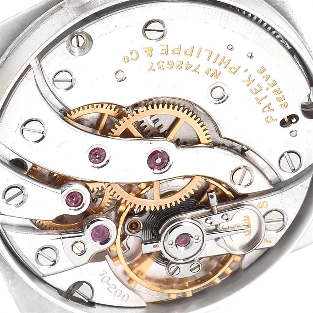 Patek Philippe Calatrava Rose Gold Manual Vintage Mens Watch 2493 SwissWatchExpo