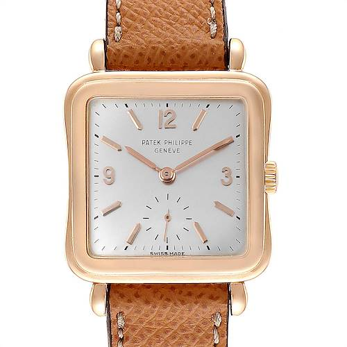 Photo of Patek Philippe Calatrava Rose Gold Manual Vintage Mens Watch 2493