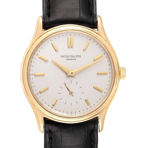 Photo of Patek Philippe Calatrava 18k Yellow Gold Mens Watch 3923