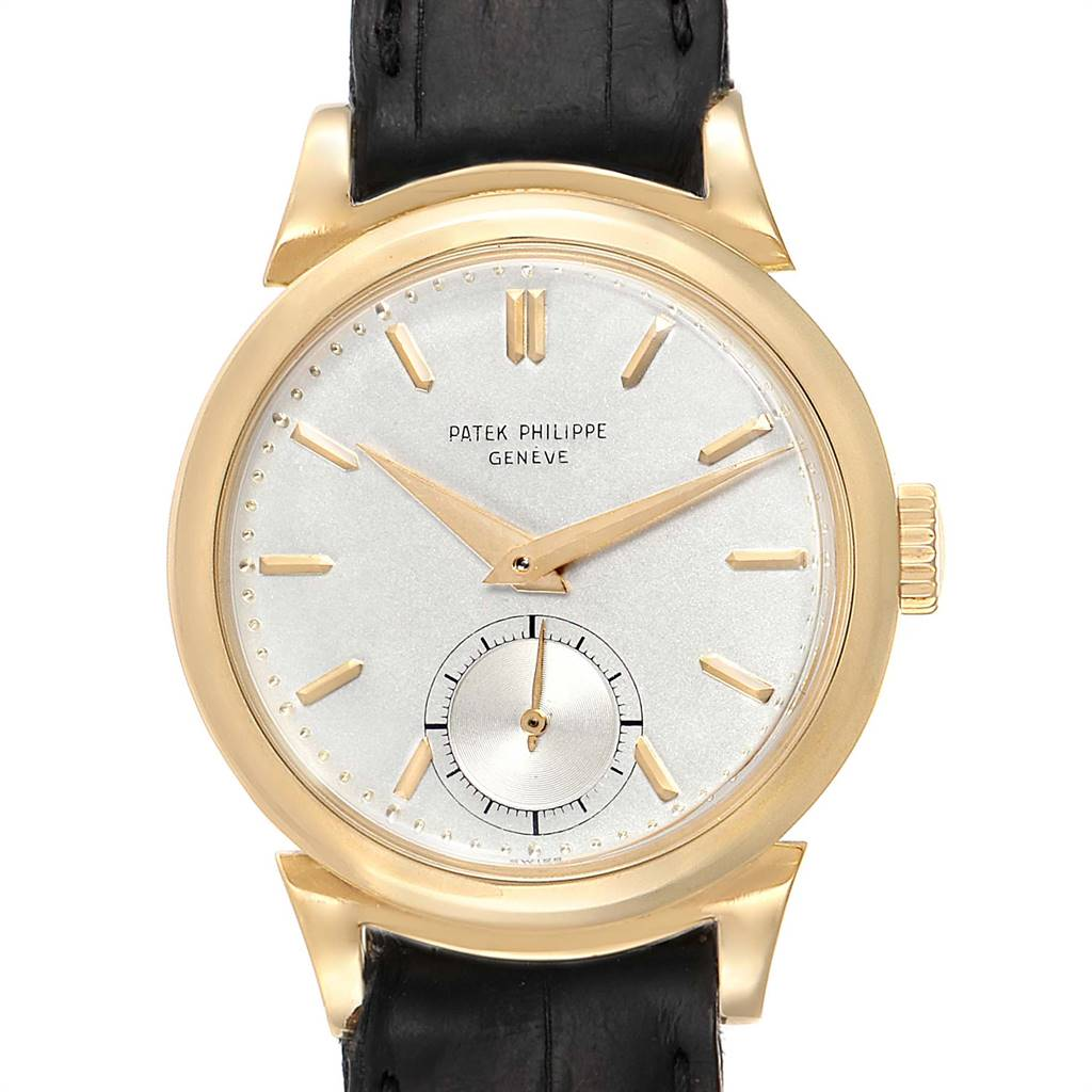Patek Philippe Calatrava Vintage 18k Yellow Gold Mens Watch 1491