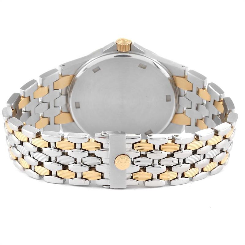 Patek Philippe Neptune Black Dial Steel Yellow Gold Mens Watch 5080 Box Papers SwissWatchExpo