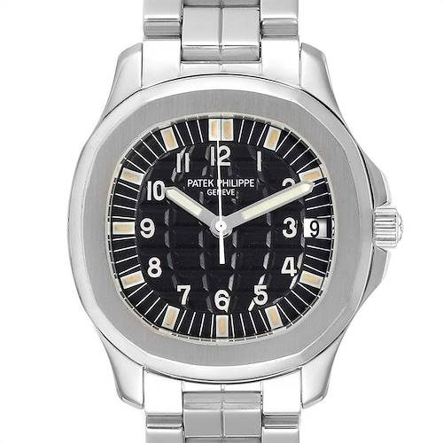 Photo of Patek Philippe Aquanaut Jumbo 38mm Steel Mens Watch 5065