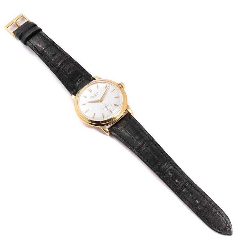 Patek Philippe Disco Volante PP Crown Yellow Gold Vintage Watch 2552 SwissWatchExpo