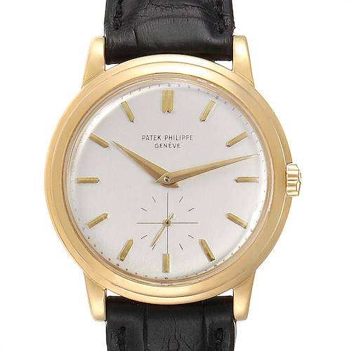 Photo of Patek Philippe Disco Volante PP Crown Yellow Gold Vintage Watch 2552