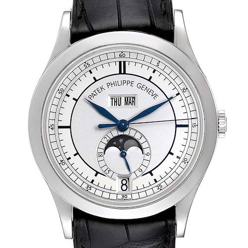 Photo of Patek Philippe Complications Annual Calendar White Gold Mens Watch 5396