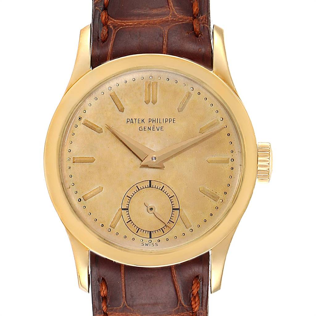 Photo of Patek Philippe Calatrava Yellow Gold Vintage Mens Watch 2545