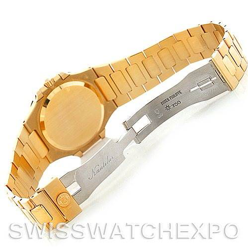 Patek Philippe Nautilus 18K Yellow Gold Watch 3900/1J SwissWatchExpo