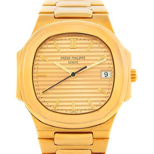 Photo of Patek Philippe Nautilus 18K Yellow Gold Watch 3900/1J