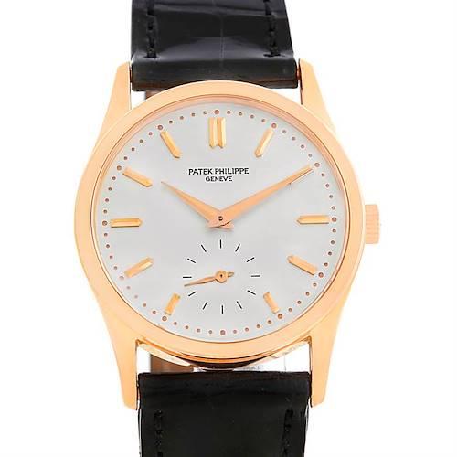 Photo of Patek Philippe Calatrava 18K Rose Gold Vintage Watch 3796