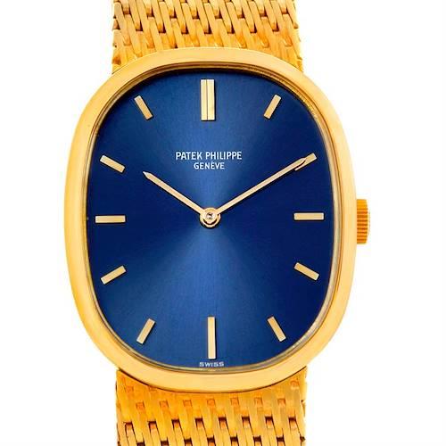 Photo of Patek Philippe Golden Ellipse 18k Yellow Gold Watch 3548