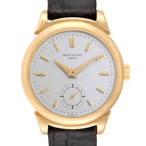 Photo of Patek Philippe Calatrava Vintage 18k Yellow Gold Mens Watch 1491