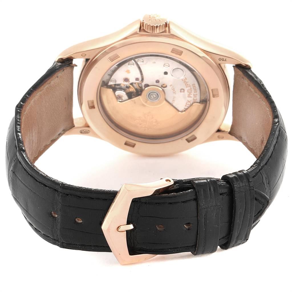 Patek Philippe Calatrava Automatic Rose Gold Mens Watch 5107 Box Papers SwissWatchExpo