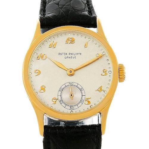 Photo of Patek Philippe Calatrava Vintage 18K Yellow Gold Watch 96