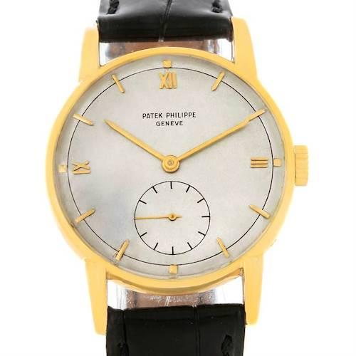 Photo of Patek Philippe Calatrava Vintage 18K Yellow Gold Watch 2430